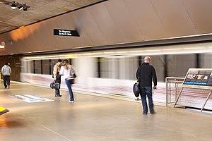 Gateway (PAT station) -  New Gateway T Station platform