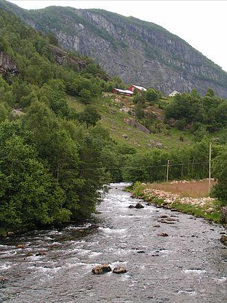 Gaular - Gaula River