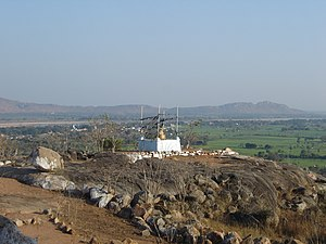 Gayasisa or Brahmayoni hill, where Buddha taught the Fire Sutta