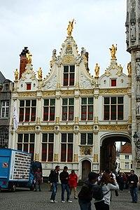 Gebouwencomplex, voormalige Burgerlijke Griffie - Burg 11b - Brugge - 29237.JPG