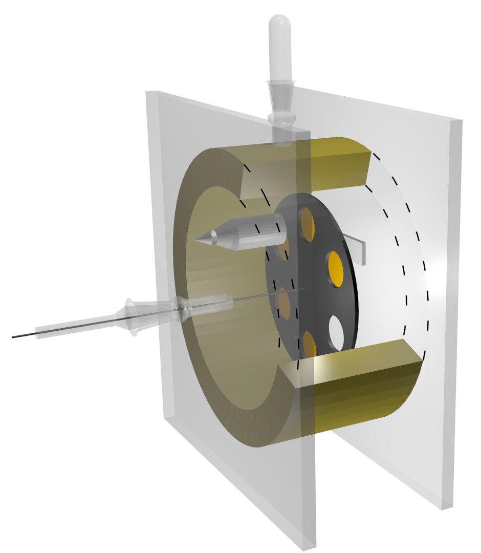 Geiger-Marsden apparatus 2 CGI mock-up