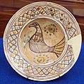 Gela, scodella in protomaiolica di tipo gela, 1225-1275 ca., da mus. reg. ceramica di caltagirone.JPG