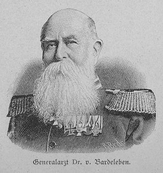 Heinrich Adolf von Bardeleben - Generalarzt Dr. Heinrich Adolf von Bardeleben