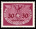 Generalgouvernement 1940 D7 Dienstmarke.jpg