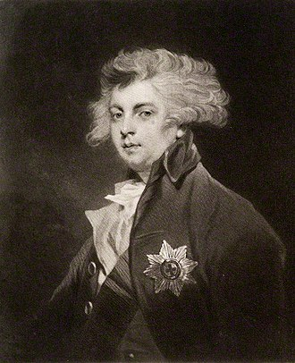 George IV of the United Kingdom - Portrait published by Sir Joshua Reynolds, 1785