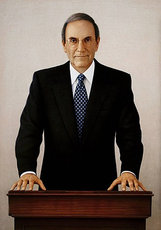 103rd United States Congress - Majority Leader of the Senate George J. Mitchell (D)