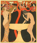 George Barbier Untitled pochoir from 1922 Corrard edition Chansons de Bilitis.png