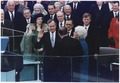George Bush takes the Oath of Office as the 41st President of the United States - NARA - 186387.tif