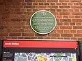 George Ellison Plaque at Leeds City Station.jpg