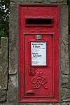 George VI Postbox, Holmefield Road, Sutton-in-Craven - geograph.org.uk - 1280344.jpg
