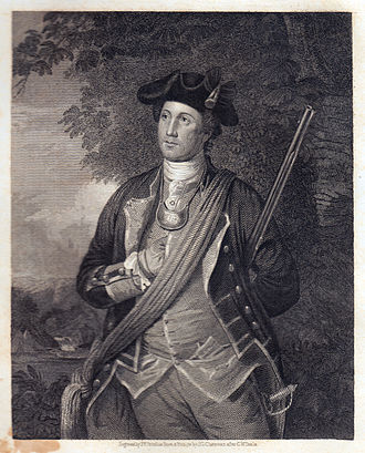George Washington in the American Revolution - Washington in 1772