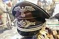 German Third Reich diplomat's visor peaked cap (very rare). Lofoten Krigsminnemuseum (WW2 Memorial Museum) Svolvær, Norway 2019-05-08 DSC00155.jpg