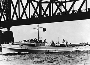 E-boat - This is one of the S-7-class boats, S-13. The Chinese Navy operated three boats of this class.