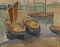 Gerrit Willem van Blaaderen - Porto com Navios na Bretanha.jpg
