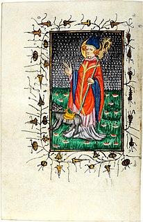 6th and 7th-century Merovingian bishop and saint