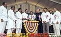 Ghulam Nabi Azad launching the National Urban Health Mission at Freedom Park, Bangalore, in the presence of the Chief Minister of Karnataka, Shri K. Siddaramaiah on January 20, 2014.jpg