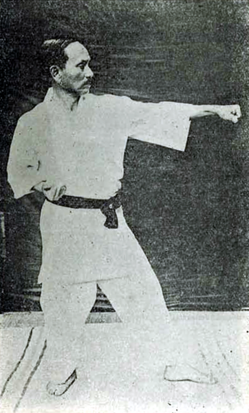 Gichin Funakoshi (1925) – History of Karate