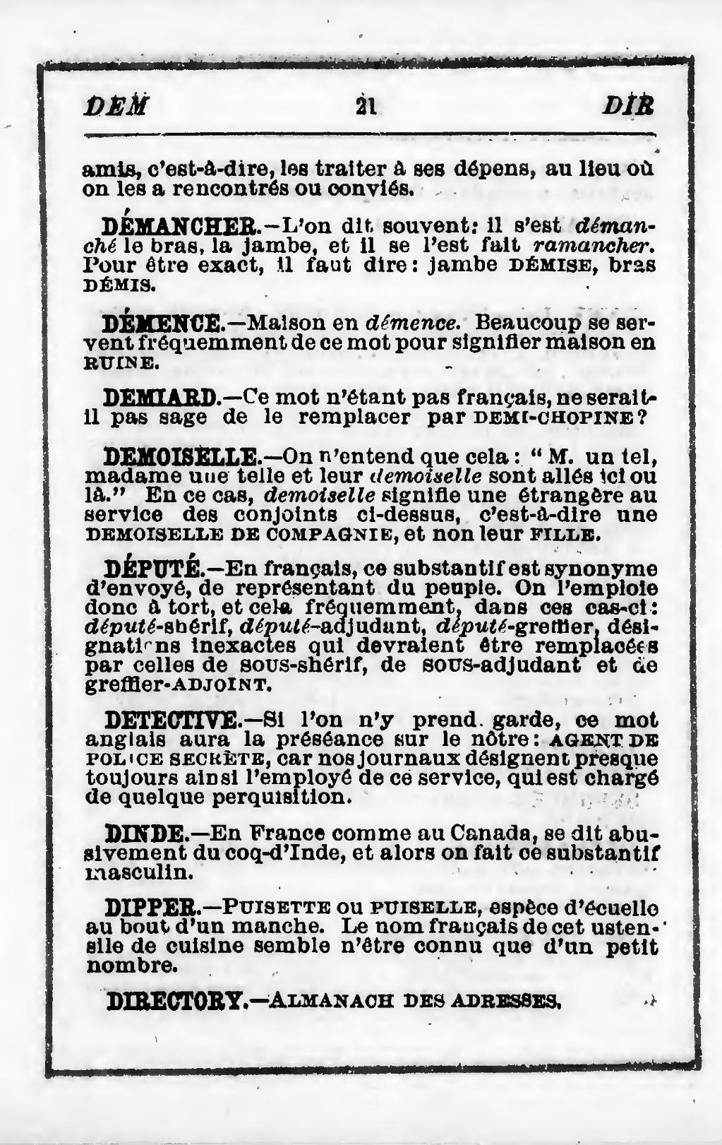 Page Gingras Manuel Des Expressions Vicieuses Les Plus Frequentes