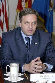Giorgi Baramidze Georgian politician