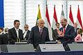 Giorgio Napolitano visite officielle Parlement européen de Strasbourg 4 février 2014 02.jpg