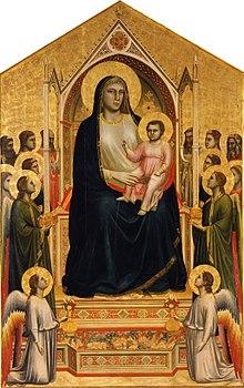 Giotto, 1267 Around-1337 - Maestà - Google Art Project.jpg
