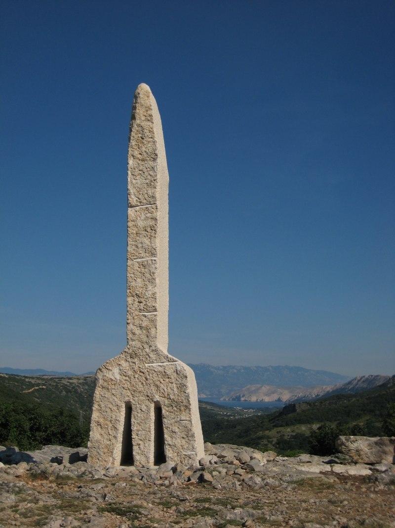Glagoljica spomenik baska