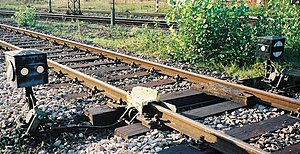 Derail - A derail in Mannheim, Germany