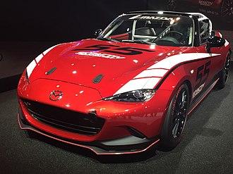 Global MX-5 Cup - Image: Global MX 5 Cup car Tokyo Auto Salon 2015