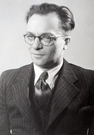Frans Goedhart - Goedhart circa 1955