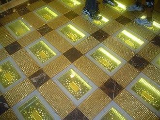 Gambling in Macau - Gold Bars at the Emperor Casino in Macau