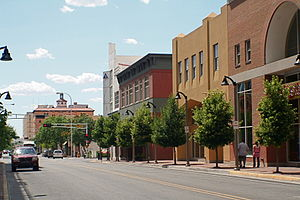Democratic Party of New Mexico - Gold Avenue Downtown Albuquerque