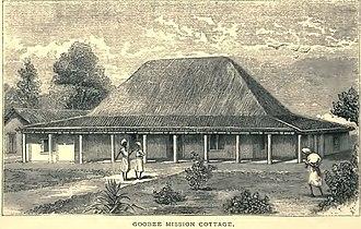 Gubbi - Image: Goobee Mission Cottage (Hodson, 1877, p.46) Copy
