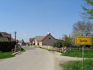 Goričan Municipality in Međimurje, Croatia