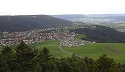 Gosheim from the Lemberg