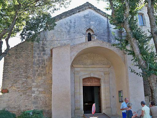Goult - facade église