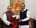 Governor of Bihar Satya Pal Malik with Vice President M. Venkaiah Naidu.jpg