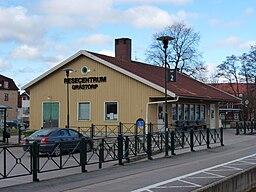 Stationen i Grästorp i marts 2012