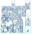 Grablegungsplan der Coemeterialbasilika an der Via Ardeatina, Rom.jpg