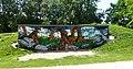 Graffiti in het Groenhovenpark in Gouda.jpg