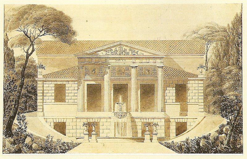 File:Grandjean de Montigny - Projeto de casa com jardim ...