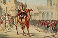 Grands conquerants - Omar le 2eme calife prenant en personne possession de Jerusalem l'an 638 de l'ere chretienne.derv..jpg