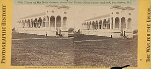 Hampton Park (Charleston) - The grandstands at the racetrack were designed by Charles F. Reichart.