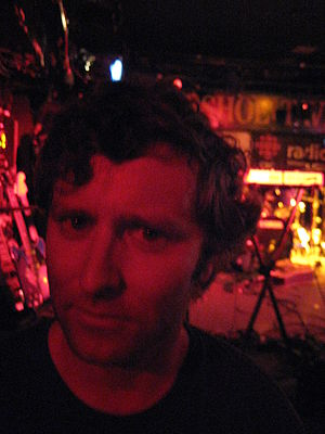 Grant Lawrence - Lawrence at the 2007 NXNE festival