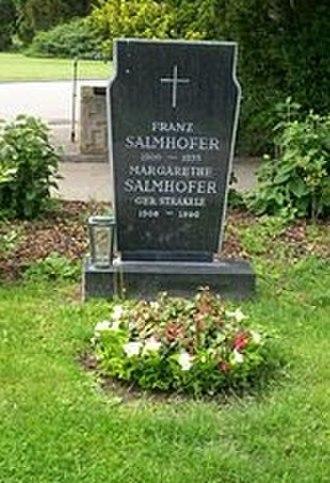 Franz Salmhofer - Image: Grave Salmhofer Franz