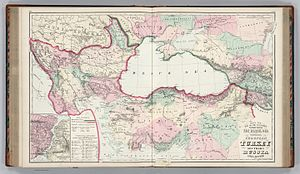 Vilayet - Image: Gray's New Map of the Countries Surrounding the Black Sea Comprising European Turkey, Southern Russia, Asia Minor, Etc. (inset) The Bosphorus and Vicinity. Copyright, 1877, by O.W. Gray & Son