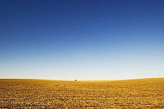 Great Plains - View of the Great Plains near Lincoln, Nebraska