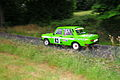 Green Wartburg 353 with Danny Raupach and Christian Modes during the Vogtlandrallye 2008.jpg