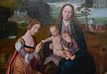 Groeningemuseum Master of the Holy Blood Madonna Saint Catherine 01052015.jpg