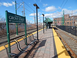 Grove Street station (Newark Light Rail)