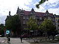 Grunwaldzki Square in Szczecin, 2009 (tenement houses).jpg